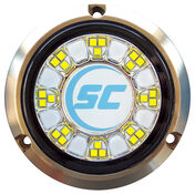 Shadow-Caster Color-Changing Bronze Underwater Light – 24 LEDs, Bimini Blue/Great White
