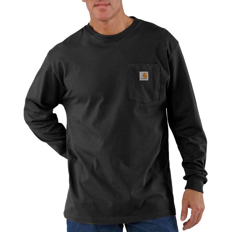 Carhartt Men's Workwear Long-Sleeve Pocket Tee image number 17