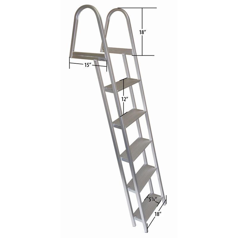 Dockmate Stationary Dock Ladder, 5-Step image number 2