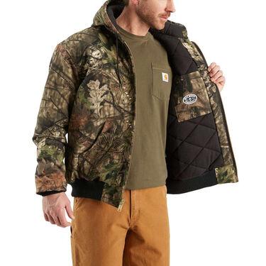 Carhartt Men's Quilted Flannel Camo Active Jacket