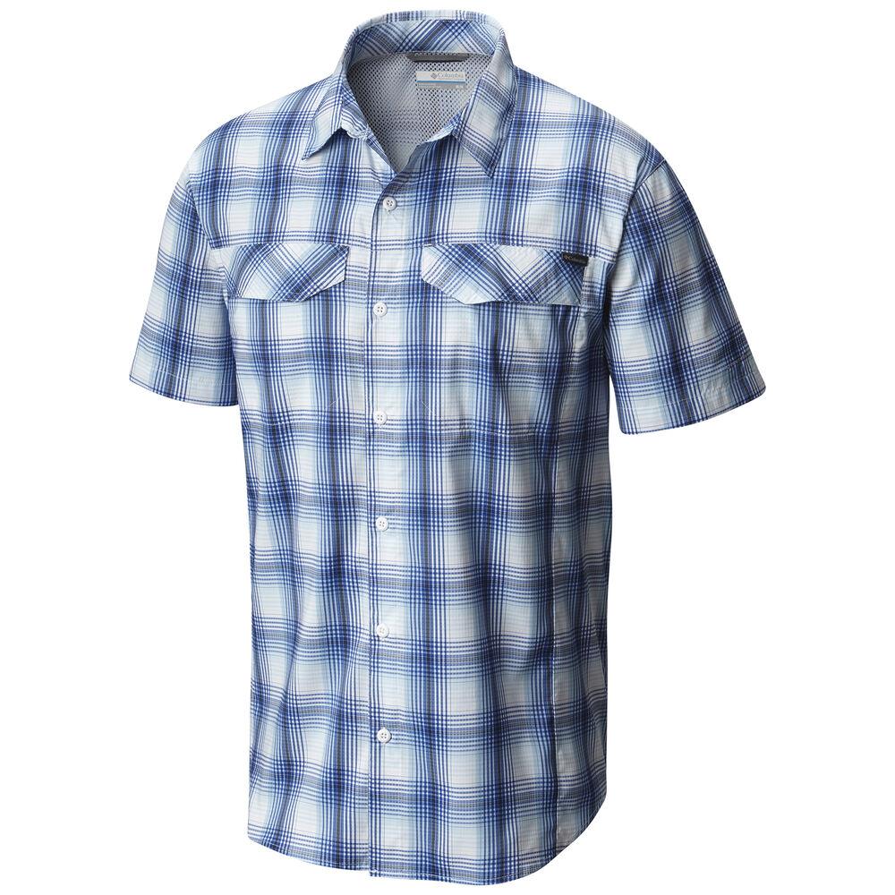 e1fd0812aef Columbia Men's Silver Ridge Lite Plaid Short-Sleeve Shirt | Overton's