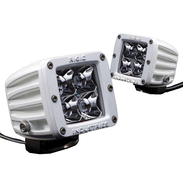 Rigid Industries M-Series Dually LED Floodlights, Pair