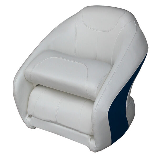 Wise Modern Ski Boat Bucket Seat With Flip-Up Bolster