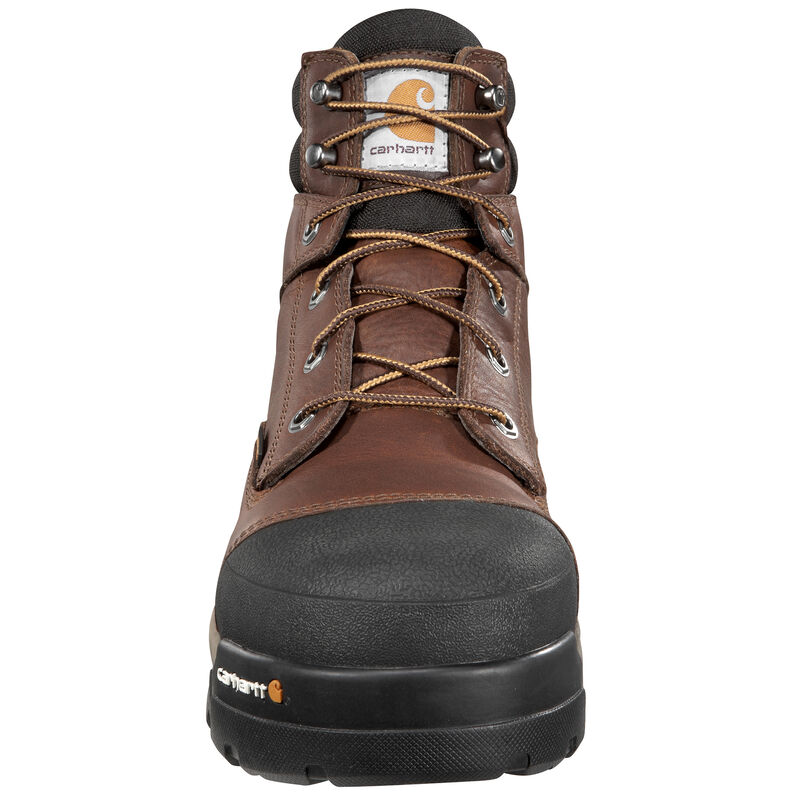 """Carhartt Men's 6"""" Brown Ground Force Work Boot image number 4"""
