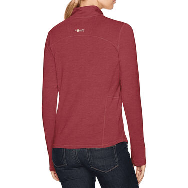 Carhartt Women's Force Ferndale Quarter-Zip Long-Sleeve Shirt