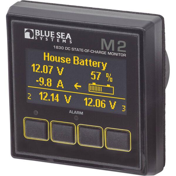 Blue Sea Systems M2 DC SoC OLED Digital Monitor