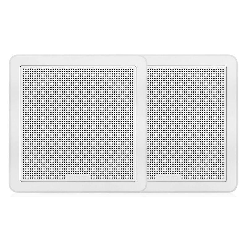 "FUSION FM-F77RB FM Series 7.7"" Flush Mount Square Marine Speakers  image number 4"