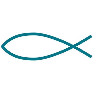 Fish Symbol Vinyl Decal