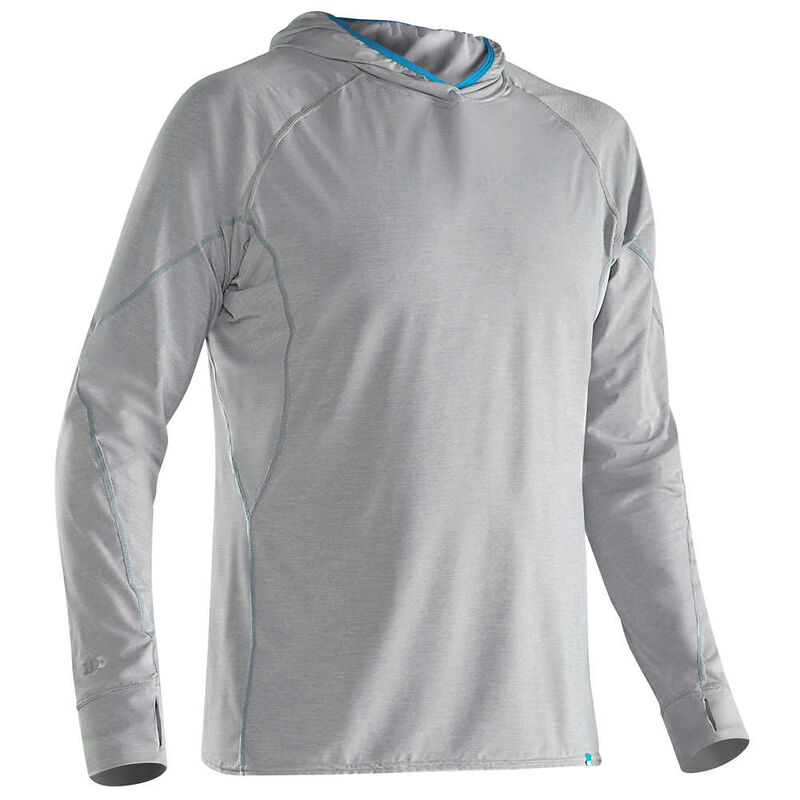 NRS Men's H2Core Silkweight Pullover Hoodie image number 2