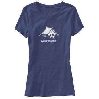 Livin' Country Women's Tent Short-Sleeve Tee
