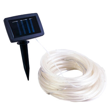 White LED Solar Rope Lights