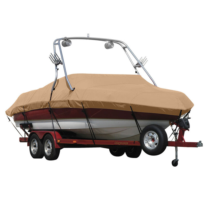 Exact Fit Sunbrella Boat Cover For Cobalt 200 Bowrider With Tower Covers Extended Platform image number 14