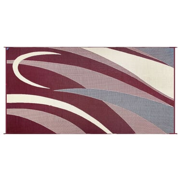 Reversible Graphic Design RV Patio Mat