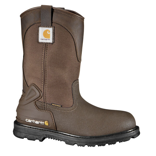"""Carhartt Men's 11"""" Brown Wellington Boot"""
