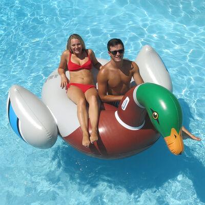Swimline Giant Decoy Duck Ride-On Float