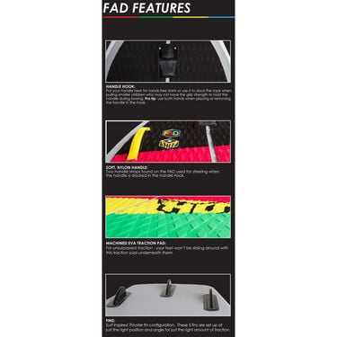 HO FAD Inflatable Board, 4-1/2'L