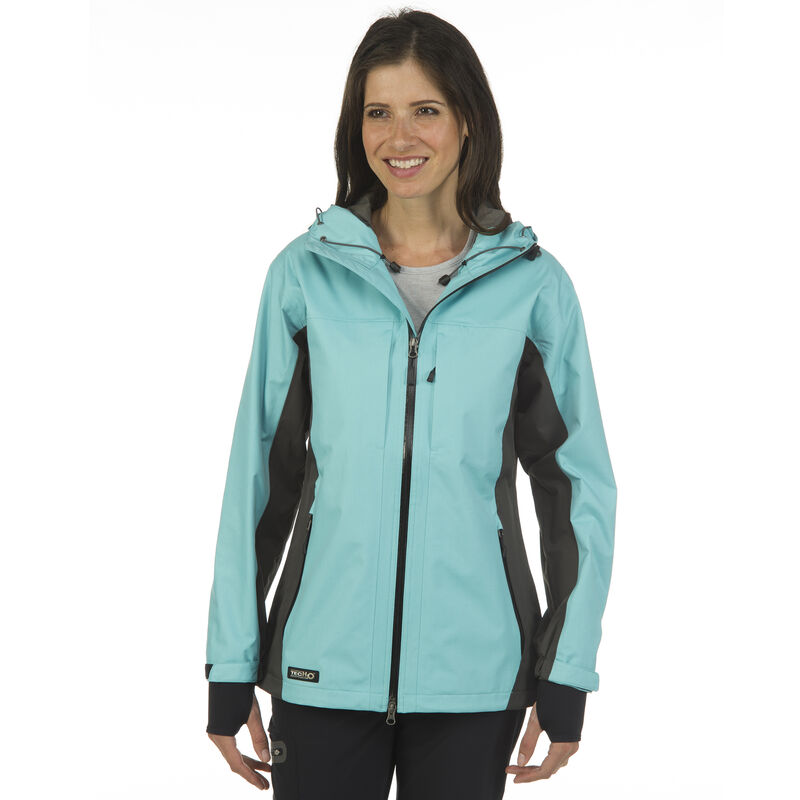 Ultimate Terrain Women's TecH2O Sheltered II Rain Jacket image number 3