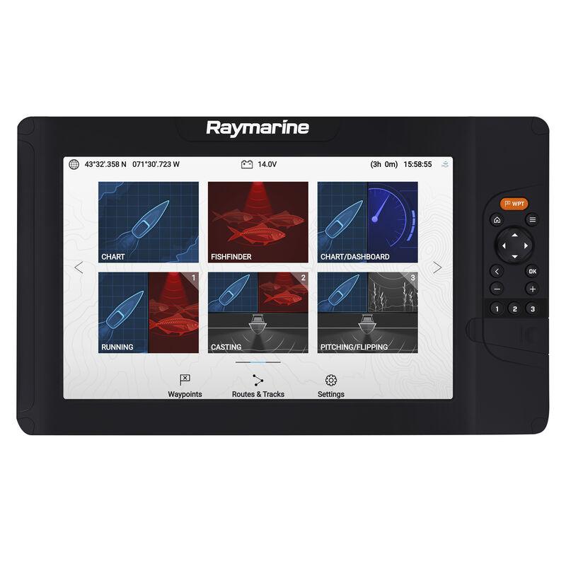 Raymarine Element 12 HV-100 GPS Fishfinder w/Navionics Nav+ US & Canada Charts image number 3