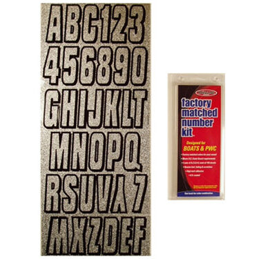 """3"""" Solid w/Shadow Number Kits"""