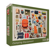 Camping Equipment 500-Pc. Jigsaw Puzzle