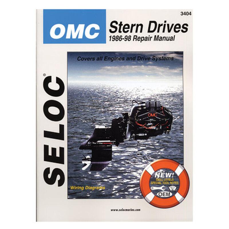 Seloc Marine Stern Drive & Inboard Repair Manual for OMC '86 - '98 image number 1