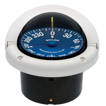 Ritchie SuperSport SS-1002 Flush-Mount Compass, White