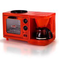 3-in-1 Multifunction Breakfast Deluxe Center - Red