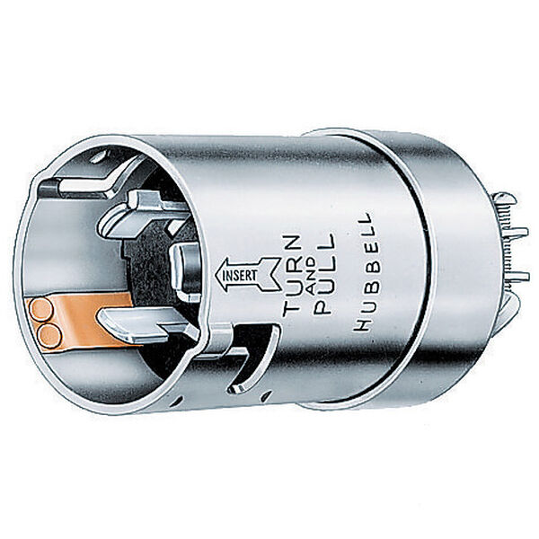 Hubbell Ship-to-Shore Twist-Lock Male Connector Plug