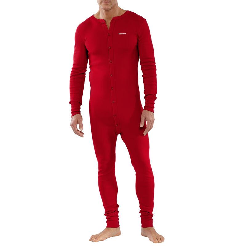 Carhartt Men's Cotton Union Suit image number 4