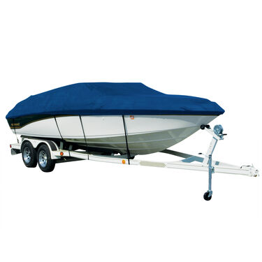 Exact Fit Sharkskin Boat Cover For Four Winns Horizon 196 W/Ski Pylon Pocket