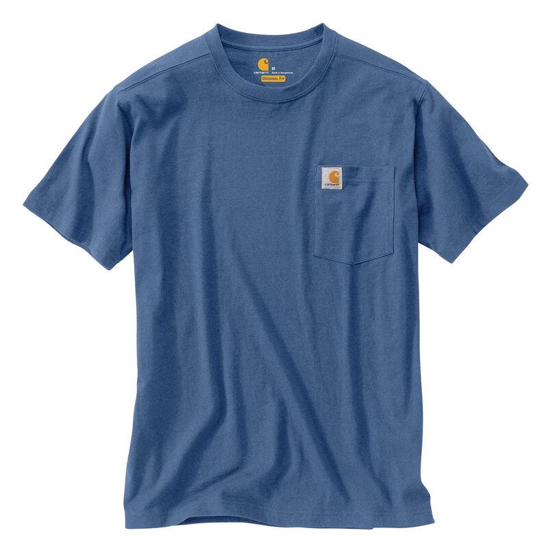 Carhartt Men's Maddock Pocket Short-Sleeved T-Shirt image number 7
