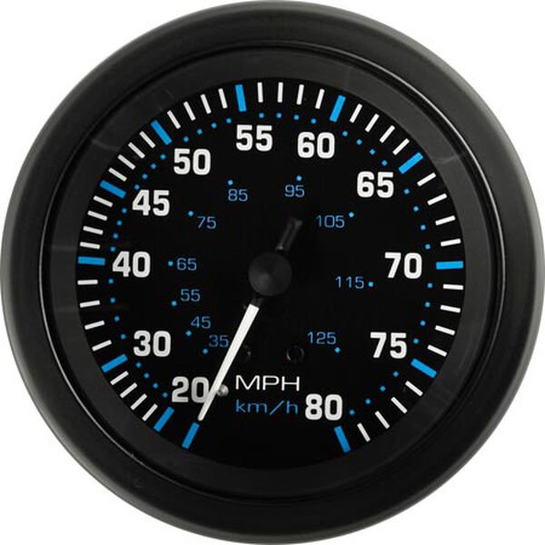 "Sierra 3"" Eclipse Speedometer"