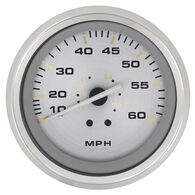 "Sierra Gold Sterling 3"" Speedometer, 60 MPH"