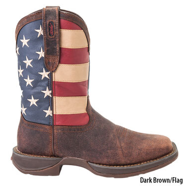 Durango Men's Rebel Patriotic Pull-On Western Flag Boot