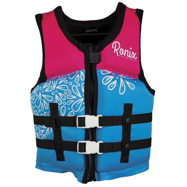 Ronix August Youth Girl's Life Jacket