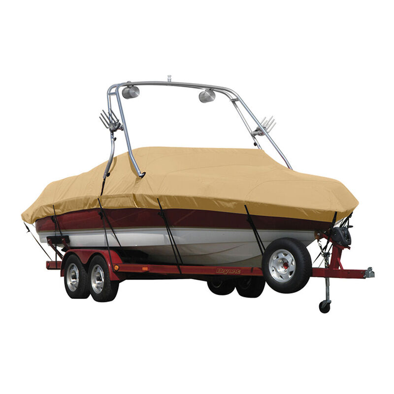 Exact Fit Sunbrella Boat Cover For Cobalt 200 Bowrider With Tower Covers Extended Platform image number 18