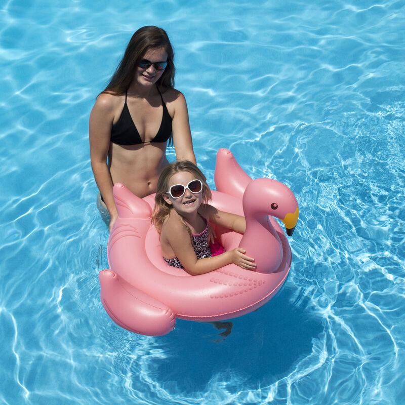 Swimline Flamingo Baby Seat Float image number 2