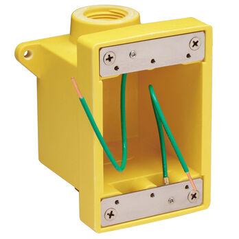 Marinco Yellow Fiberglass Box