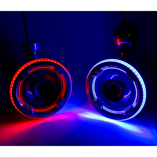 Roswell Aquatone LED Night Rings, Pair