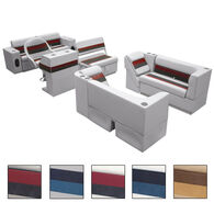 Toonmate Deluxe Pontoon Furniture w/Toe Kick Base, Complete Package E Plus Captain Stand