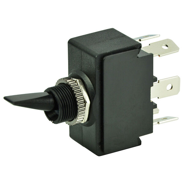 BEP DPDT Toggle Switch, On/Off/On