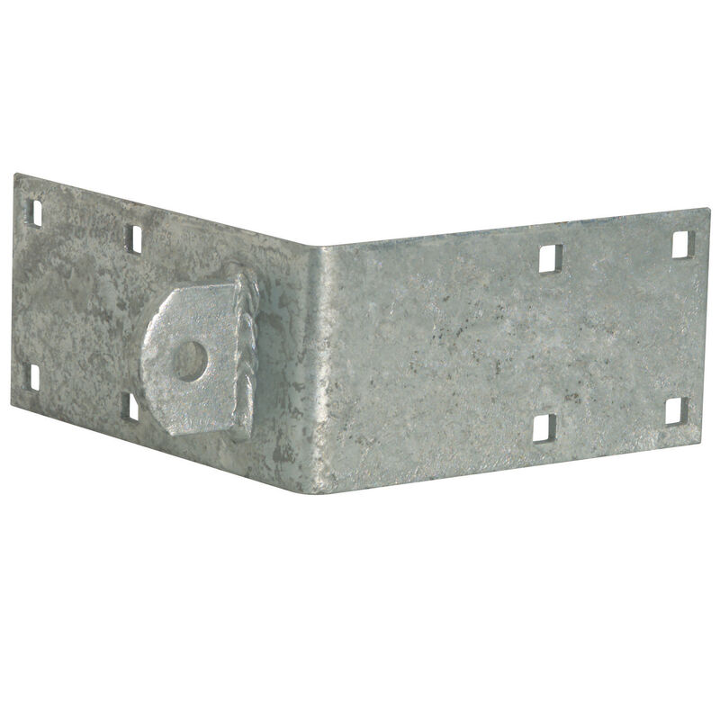 """Standard-Grade 3/16"""" Floating Dock Hardware - Male Outside Corner image number 2"""