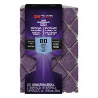3M Pro Grade Precision Sanding Sponge, 80-grit