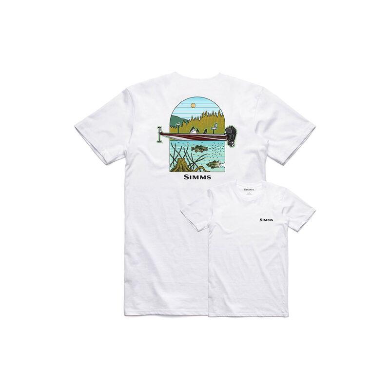 Simms Men's Underwood Lake Short-Sleeve Tee image number 1