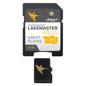 Humminbird LakeMaster Plus Chart MicroSD/SD Card, Great Plains