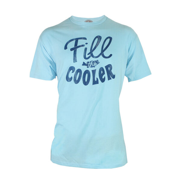 Reel Obsession Men's Fill The Cooler Short-Sleeve Tee