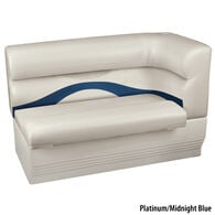 Toonmate Premium Pontoon Left-Side Corner Couch w/Platinum Base