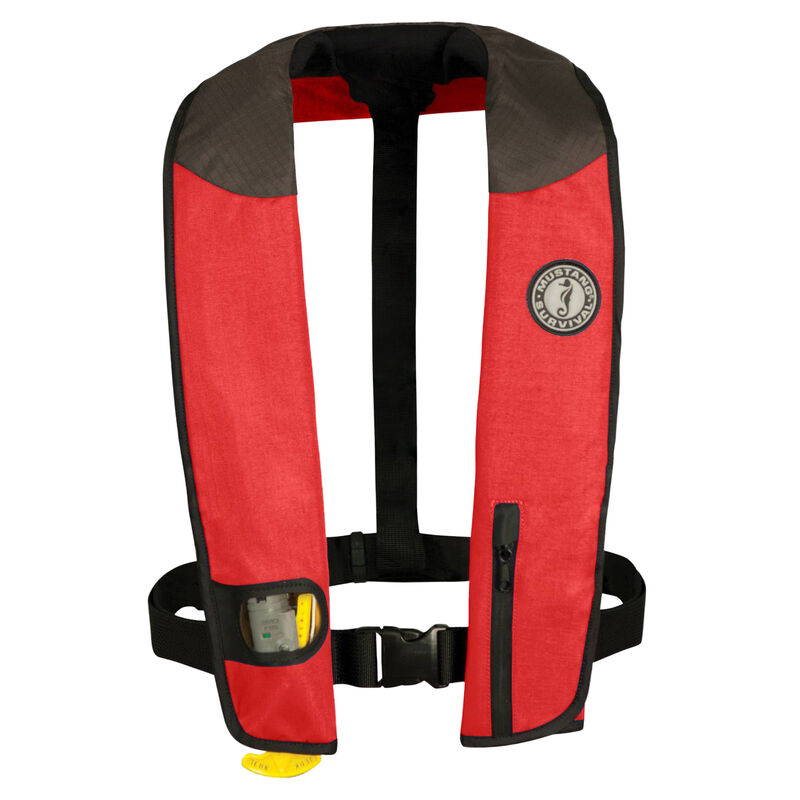 Mustang Deluxe Manual Inflatable PFD image number 1