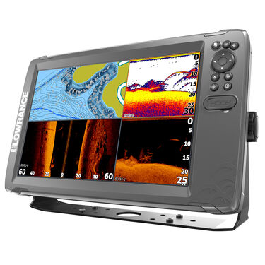 Lowrance HOOK2 12 Fishfinder/Chartplotter w/TripleShot Transducer & US/Can Nav+