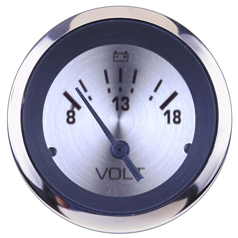 """Sierra Sterling 2"""" Voltmeter image number 1"""